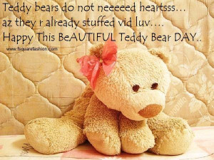 best quotes and sayings teddy bear