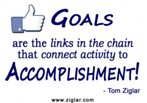 Accomplishment Quotes Tom ziglar #quotes #goals