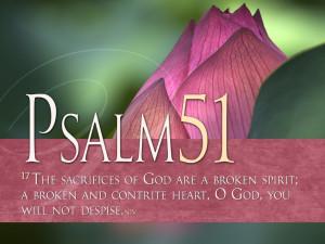 Psalm 51:17 – My Sacrifice Papel de Parede Imagem