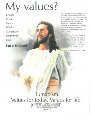 Humanist Advertisements That Didn't Make The Cut