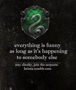 Hogwarts House Quote
