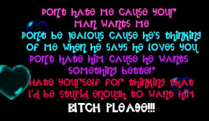 Myspace Graphics > Quotes > dont hate me coz Graphic