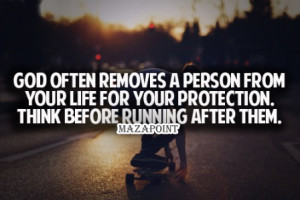 ... Person On From Your Life For Your Protection - Break Up Quote