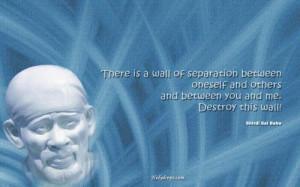 Sai Baba Quote on Ego