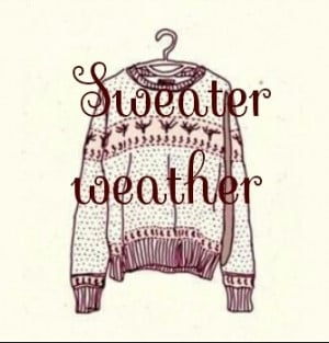 Sweater Weather on We Heart It. http://weheartit.com/entry/80178307 ...