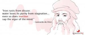 Michelangelo vs. Leonardo da Vinci Quotes