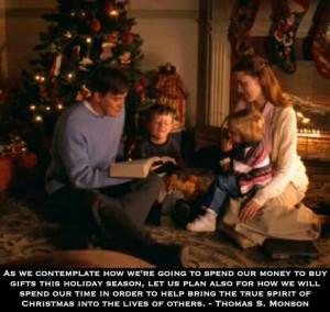 Christmas quote- Thomas S. Monson