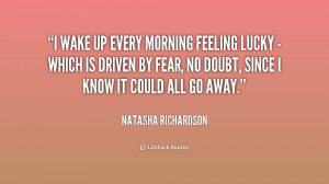Feeling Lucky Quotes