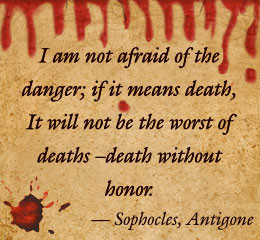 Analysis of Important Quotes from Sophocles' Antigone