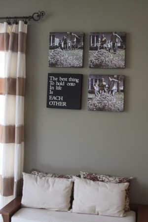 Photo Sequence Canvas Wall Art | A Spotted Pony