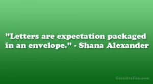Shana Alexander Quote