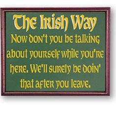 Image detail for -funny irish quotes and jokes each funny irish quote ...