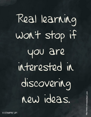 Showing Gallery For Never Stop Learning Quotes