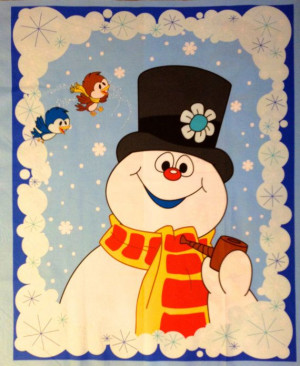Frosty the Snowman was a happy, jolly soul! With a corn cob pipe and a ...