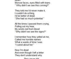 Suicide Poems