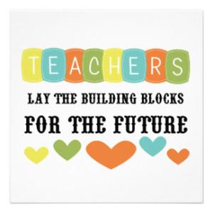 Teacher Quotes Invitations