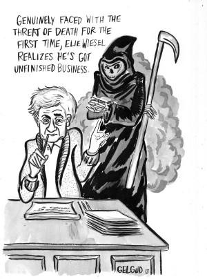 Elie Wiesel at Death's Door, Again