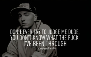 Eminem Quotes About Life...