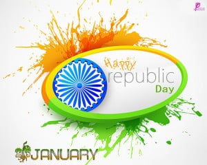 Happy Republic Day of India 26 January Wishes and Greetings Image SMS ...