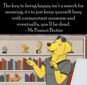 bojack horseman mr peanut butter