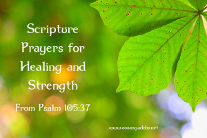 Scripture Prayer for Healing and Strength
