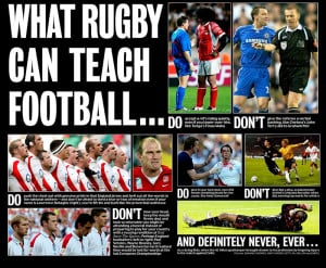 Rugby owning NFL American football