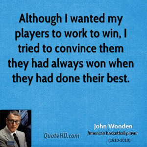 John Wooden Quotes Images