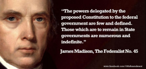 James Madison Quote From...