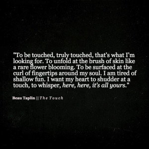 Beau Taplin Quotes