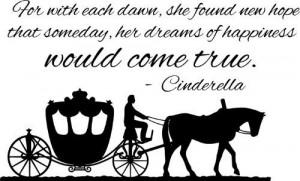 Cinderella Carriage Wall Art Decal Sticker Home Decor Monster Graphixx ...