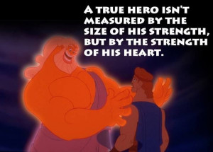 Hercules quote. Disney strikes again