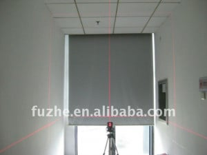 wide leveling range with cross lines laser level