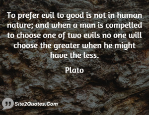 Quotes About Human Nature Evil