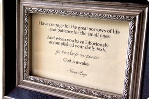 ... you daily task, go to sleep in peace. God is awake