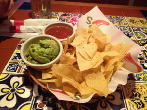 Chips And Salsa And Guacamole Salsa and guacamole