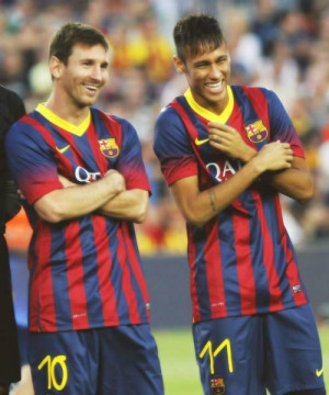 association Love Brésil aime le tandem Messi – Neymar . En ...