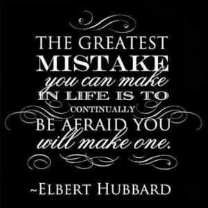 life, mistakes, regret