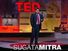 How does Sugata Mitra's work have relevance to yours?