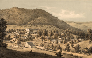 Hot Springs, Virginia. Edward Beyer, 1857.