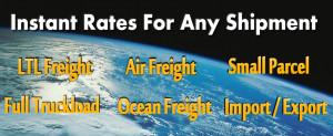 Instant Freight Quotes from over 50 National Carriers