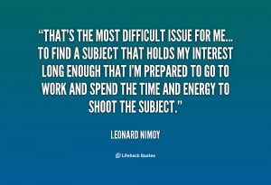 Quotes by Leonard Nimoy