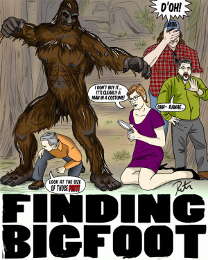 FINDING BIGFOOT: The Discovery by Rictor-Riolo
