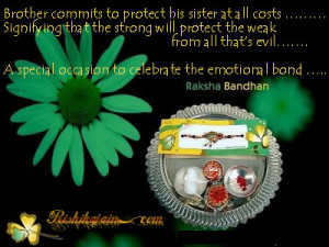 Quotes, Pictures, Rakhi, Raksha Bandhan, Inspirational Quotes Brother ...