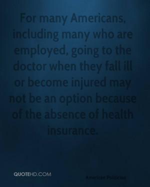 Ben Nelson Health Quotes