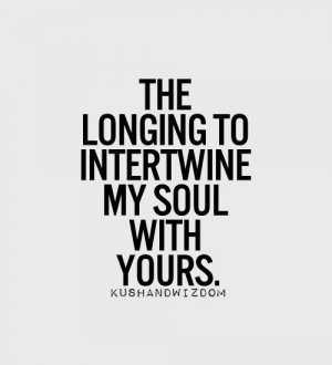 Longing for Love You Quote