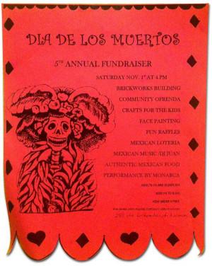 5th Annual Dia De Los Muertos (Day of the Dead) Fundraiser