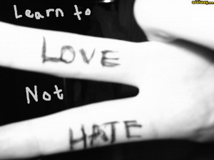 Promote Love Not Hate