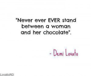 Demi Lovato funny quote.