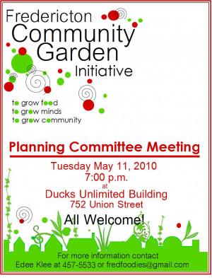 Community Garden Posters
