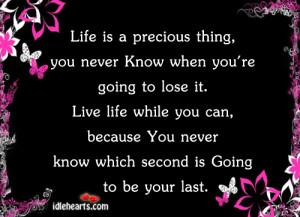 ... precious life quotes 500 x 311 124 kb jpeg precious life quotes 400 x